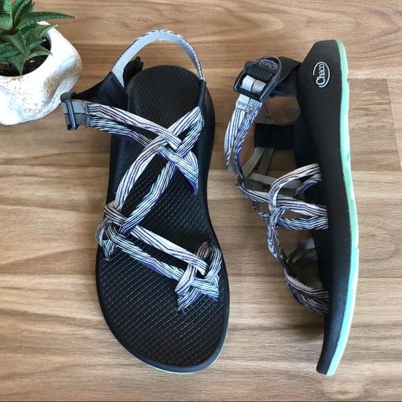 da83eb2f6657 Chaco Shoes - Zx 2 CHACO Chevron Sandals Strappy Buckle Shoes